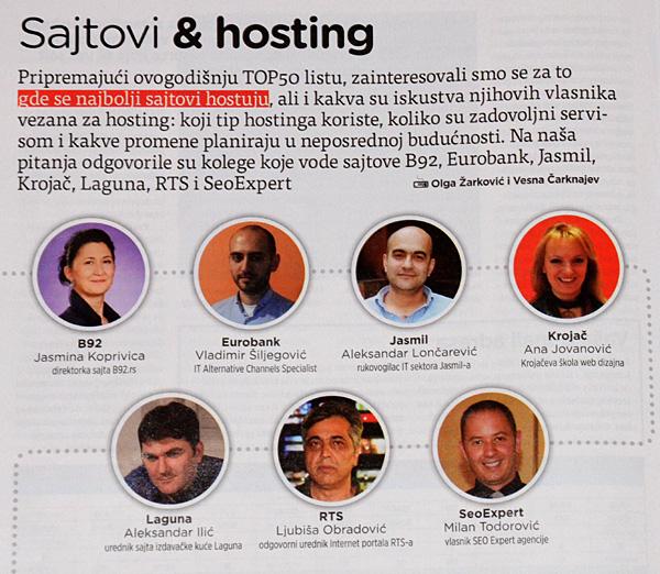 SEO Expert na crti sa direktorom sajta B92, RTS, Lagune...