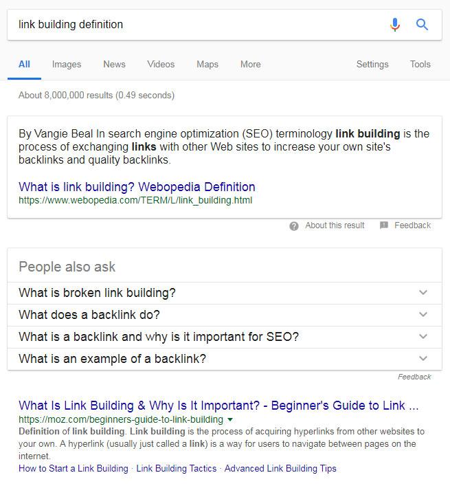 Šta je Link Bilding - građenje linkova