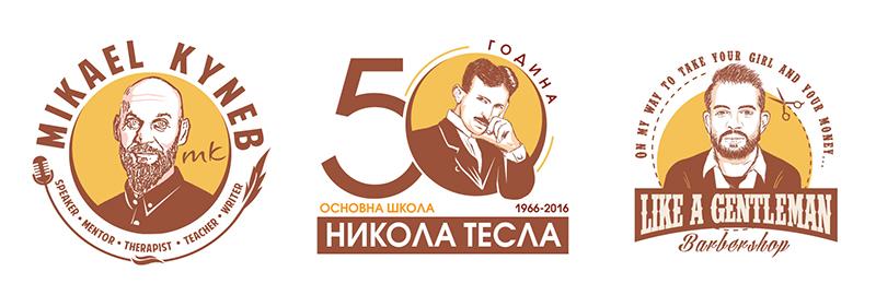 Konkursi za logo dizajn sa likom osobe
