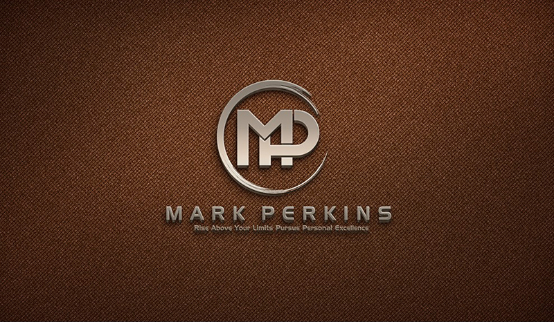 Mark Perkins logo rešenje